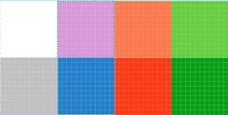1の青色を紫色に差し替えた画像